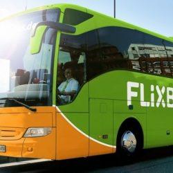 На автобусе в Цюрих