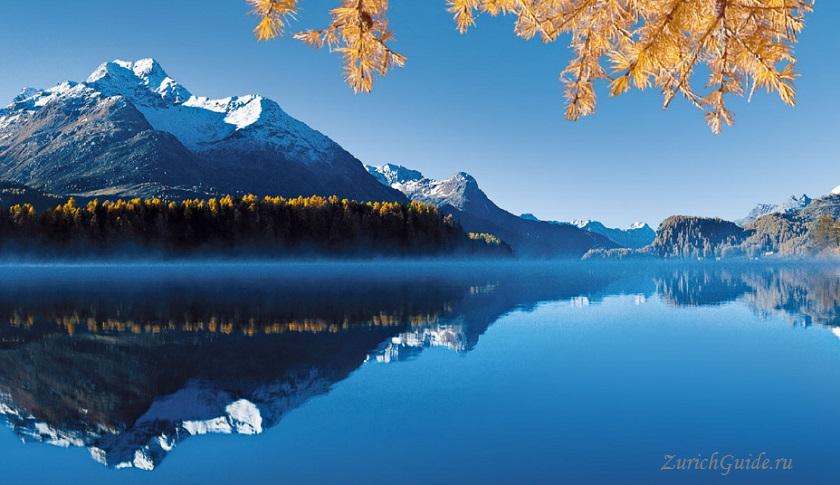 Маршрут вокруг озера Зильс-Мария (Sils Maria), Швейцария