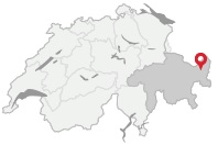 Tarasp - location map