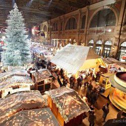 Рождественский рынок в ЦЮрихе - елка сваровски