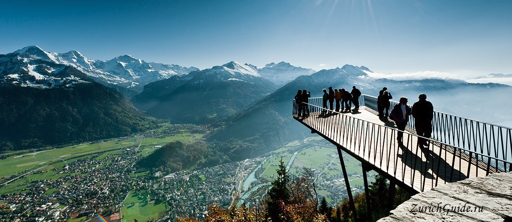 Тун Швейцария достопримечательности на озере и в городе