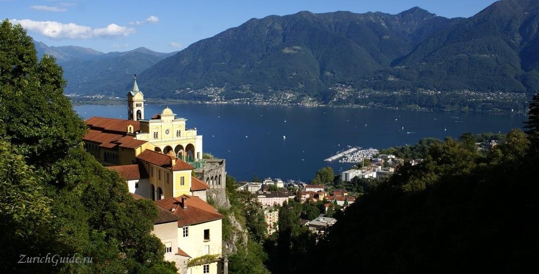 Аскона (Ascona), кантон Тичино, Швейцария