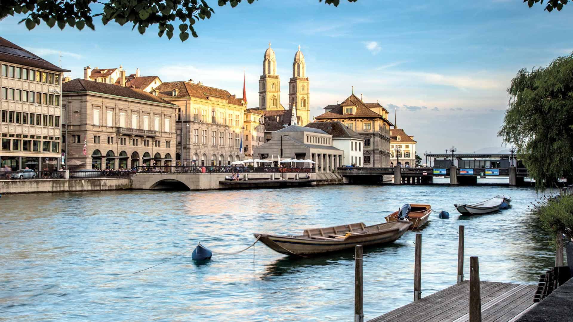 Обои Пейзаж, причалы, лодки, ticino, швейцария, дома, ascona, набережная. Города foto 11