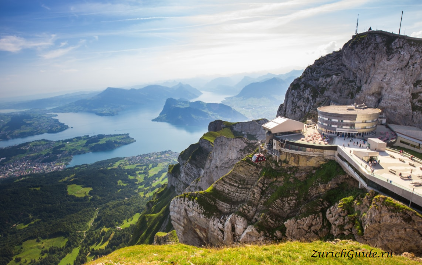 Люцерн, Гора Пилатус - Pilatus Kulm Switzerland Luzern