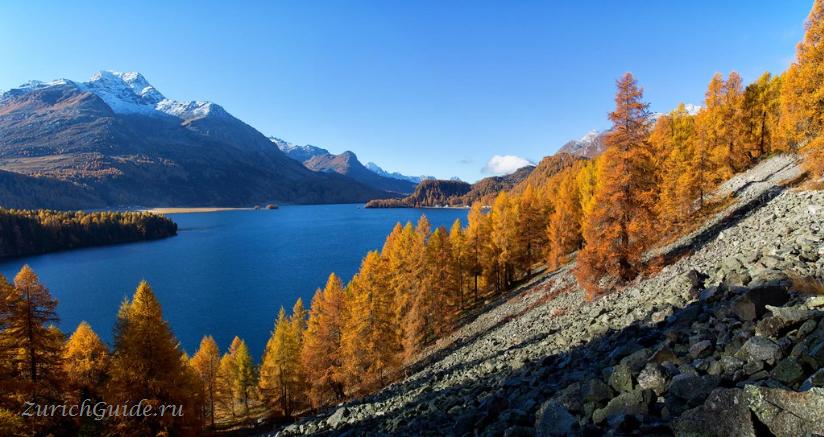 Озеро Санкт-Моритца