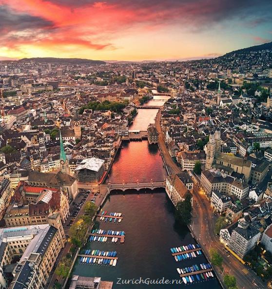 Цюрих (Швейцария) - все о городе, достопримечательности и фото Цюриха